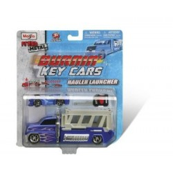 Maisto Burnin' Key Cars Hauler Launcher