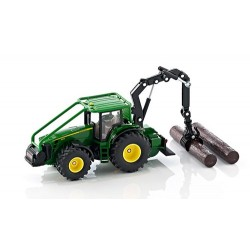 JD forestry tractor with roll-bar