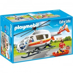 Playmobil - Elicopter medical de urgență
