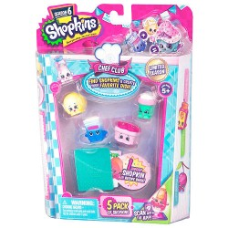 Shopkins (S6) - Chef Club set 5 buc.