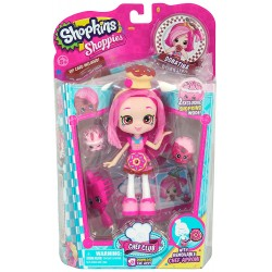 Shopkins Shoppies - Păpușa Donatina cu 2 figurine exclusive