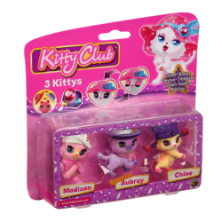 Kitty Club - Set 3 Figurine