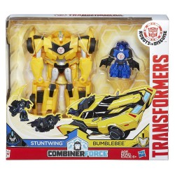 Transformers - Combiner Force - Stuntwing & Bumblebee