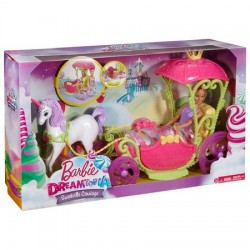 Set Mattel Barbie Dreamtopia:  Castel mobilat - Sweetwille castle
