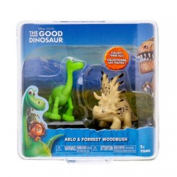 Set 2 figurine - The Good Dinosaur - Arlo & Forrest Woodbush