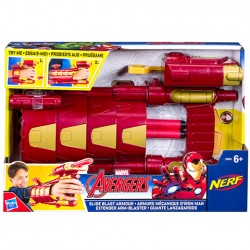 Jucarie Avengers Iron Man Slide Blast Armour