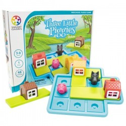 Joc Smart Games Three Little Piggies - deluxe