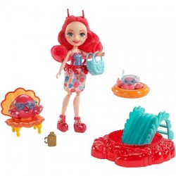Set Mattel EnchanTimals Papusa Cameo Crab si accesorii