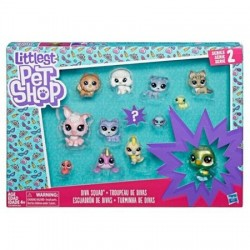 Set de 11 figurine de colectie Hasbro Littlest Pet Shop - Diva Squad