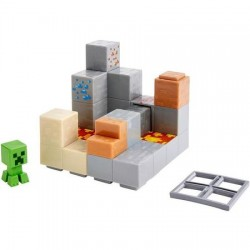 Set Jucarii Minecraft Mini Figure Environment Set Mining Mountain