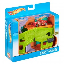 Set de joaca Hot Wheels Ghost Garage