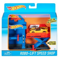 Set de joaca Hot Wheels Robo-Lift Speed Shop