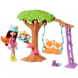 Set de joaca Mattel Enchantimals Aventura