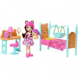Set de joaca Mattel Enchantimals Dormitor