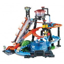 Hot Wheels: Set de joacă Ultimate Gator Car Wash