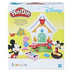 Set creativ Play-Doh Casuta lui Mickey Mouse