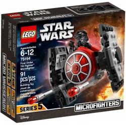 75194 - LEGO Star Wars TIE Fighter al Ordinului intai Microfighter