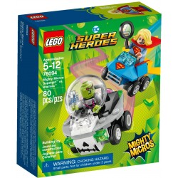 76094 - LEGO DC Super Heroes Mighty Micros: Supergirl contra Brainiac