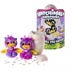 Hatchimals - Gemenii Roz/Galben