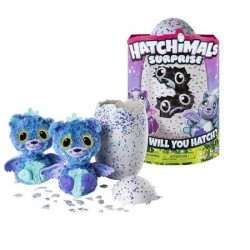 Hatchimals - Gemenii Mov sau Turcoaz