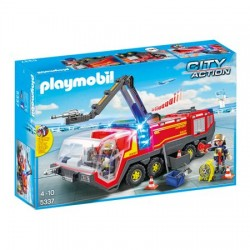 Set Playmobil City Action - Masina De Pompieri A Aeroportului