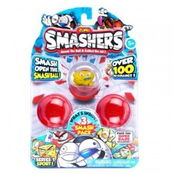 Set Zuru 3 Figurine in Mingiute Smashers
