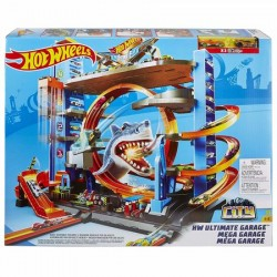 Garaj Mega Garage City Box Hot Wheels
