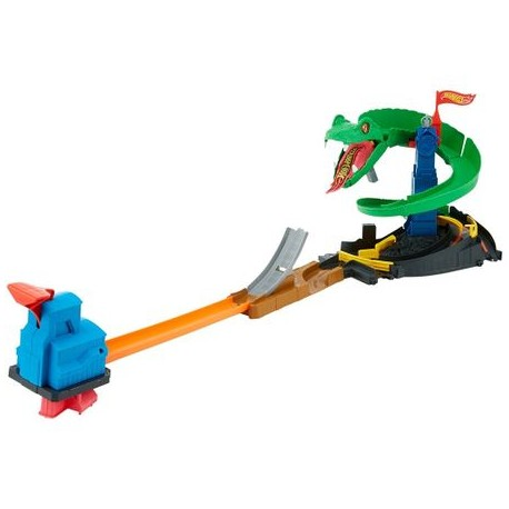 Hot Wheels - Piste de Performanță - Crane Crasher