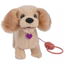Jucarie interactiva de plus Noriel Pets - Mera catelusul golden retriever