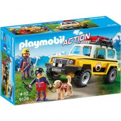 Set Playmobil Action - Salvatori Montani Cu Camion 9128