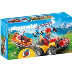 Set Playmobil Action - Salvatori Montani Cu Targa 9130