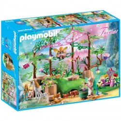 Set Playmobil Fairies - Padurea Magica Cu Zane 9132