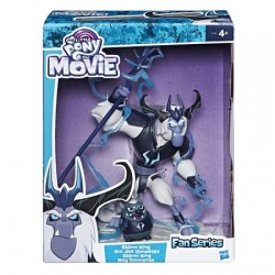 Set figurine My Little Pony, Storm King si ariciul Grubber