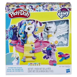 Set plastilina Play-Doh My Little Pony Canterlot Court