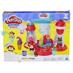 "Set de plastilina ""Fabrica de inghetata"" Kitchen Creation, Hasbro"
