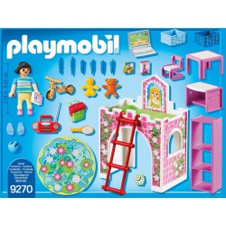 Set de constructie Playmobil City Life - Camera Copiilor (9270)