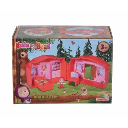 Mini Set de joaca Masha and The Bear - Casuta lui Masha