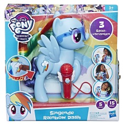 My Little Pony - Jucarie Rainbow Dash cu microfon si sunete