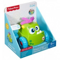 Masinuta Fisher-Price Monster Verde