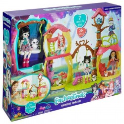 Set de joaca Mattel EnchanTimals, Casuta lui Panda