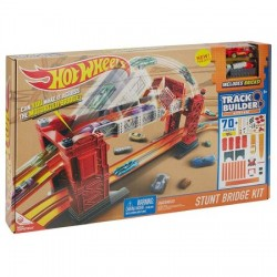 Set de joaca Mattel Hot Wheels Track Builder Stunt Bridge Kit