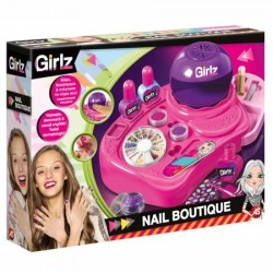 Set Clementoni Girlz, Nail Boutique