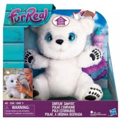 Jucarie de plus interactiv FurReal Friends - Ursuletul Polar Snifflin' Sawyer