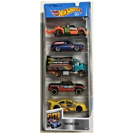 Set 5 masinute hot Wheels Track Stars,Ubx
