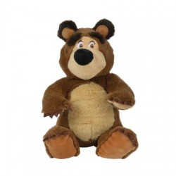 Jucarie de plus Masha and the Bear, Urs, 20 cm