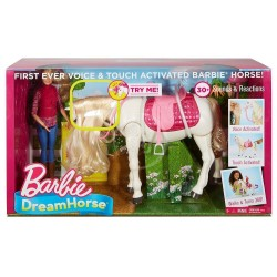 Set Mattel Barbie si calutul inteligent