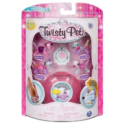 Set Twisty Petz - Pachet 4 figurine transformabile in bratari