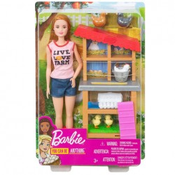 Set de joaca Barbie fermier