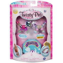 Set Twisty Petz - Pachet 3 figurine panda transformabile in bratari