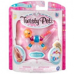 Figurina Twisty Petz transformabila in bratara - Peachy Puppy